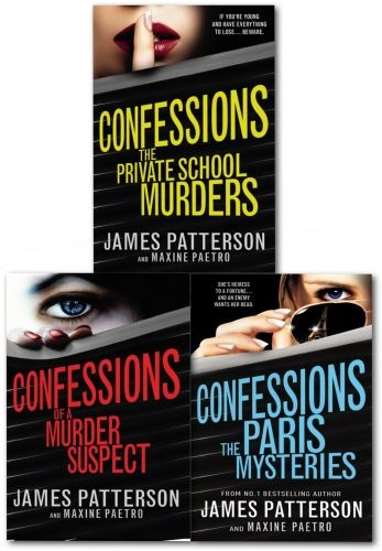 James Patterson Confessions 3 Books Collection Set Confession Of A