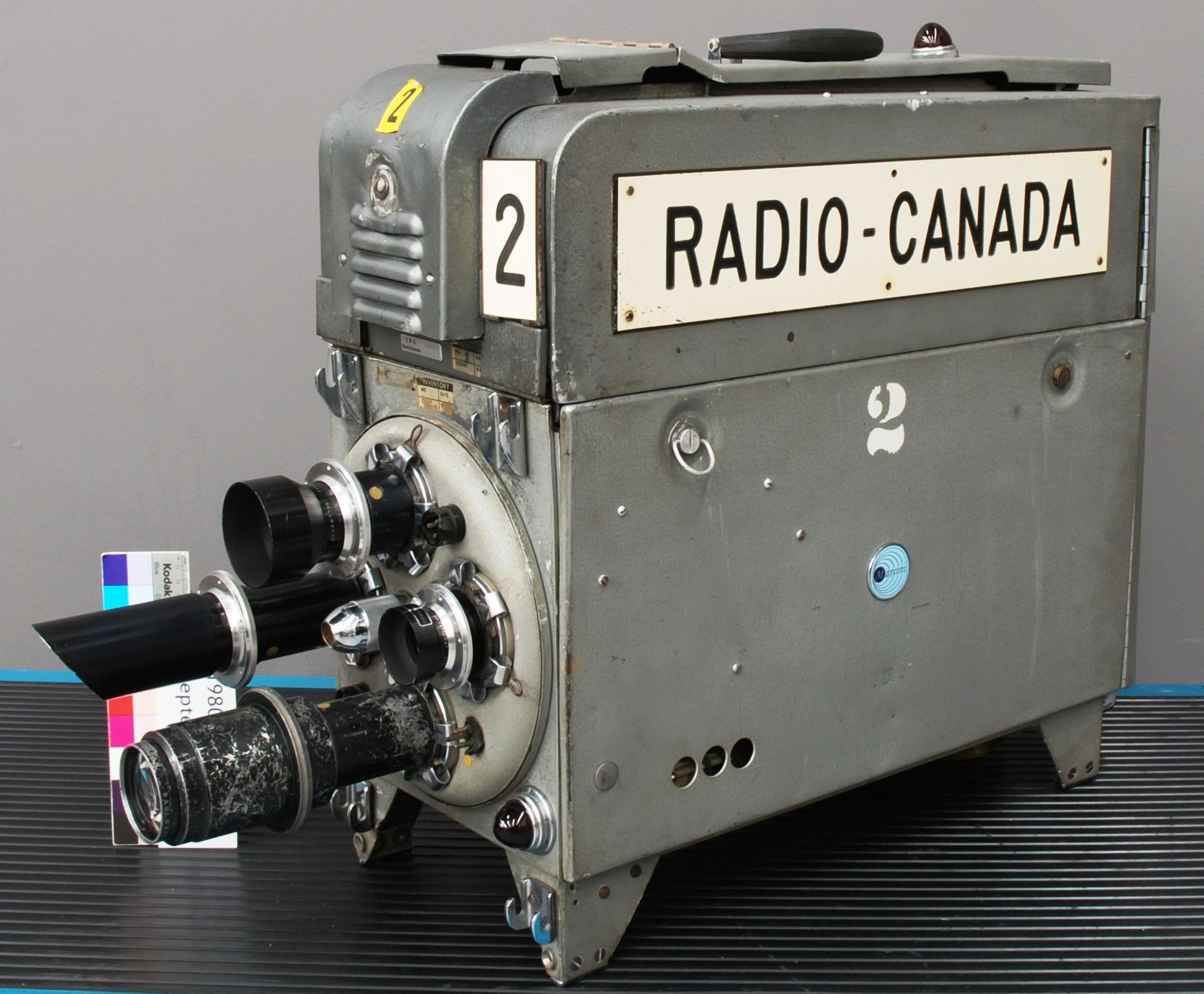 Marconi BD-624D mobile camera used by Radio-Canada in
