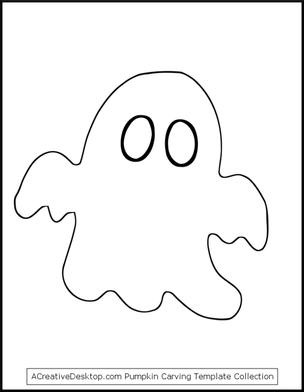 It is a graphic of Ghost Template Printable intended for character