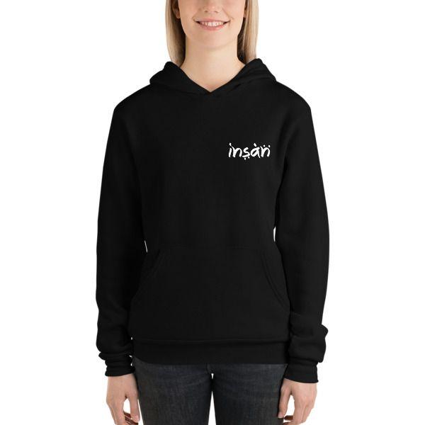 f29fdbb4902af Insan Unisex Fleece Hoodie — INSAN