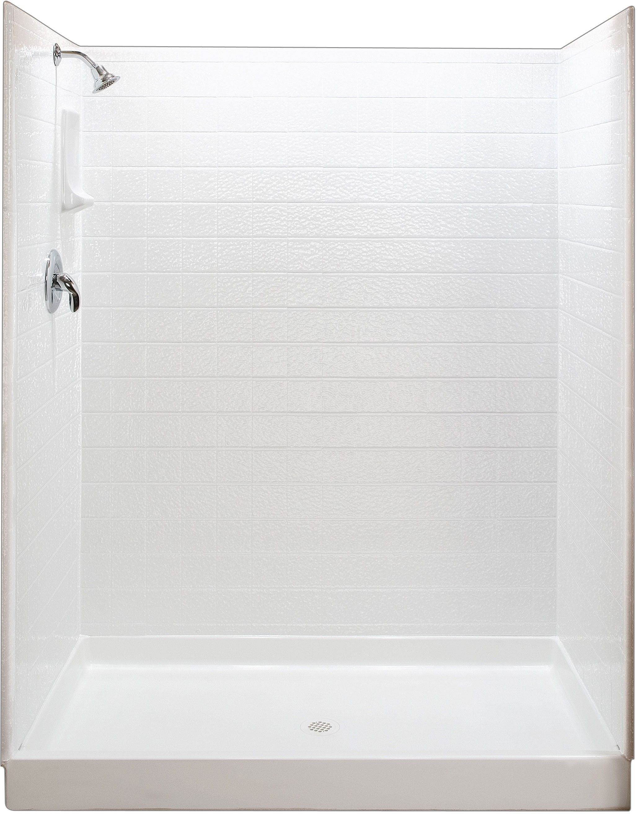 3-Wall Shower Enclosure | diy | Pinterest | Shower enclosure, Bath ...