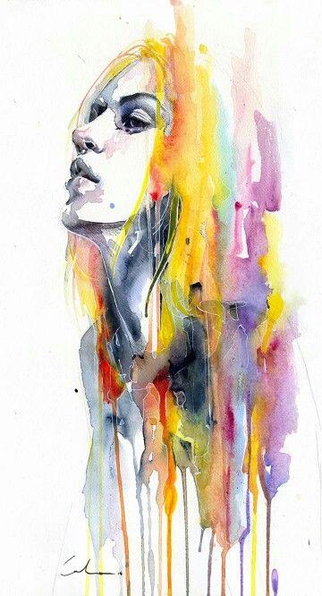 Agnes Cecile Portrait Art Art Art Painting