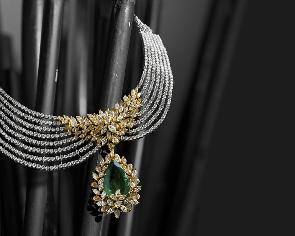 Diamond Jewellery Store in Delhi India Best Designer Bridal