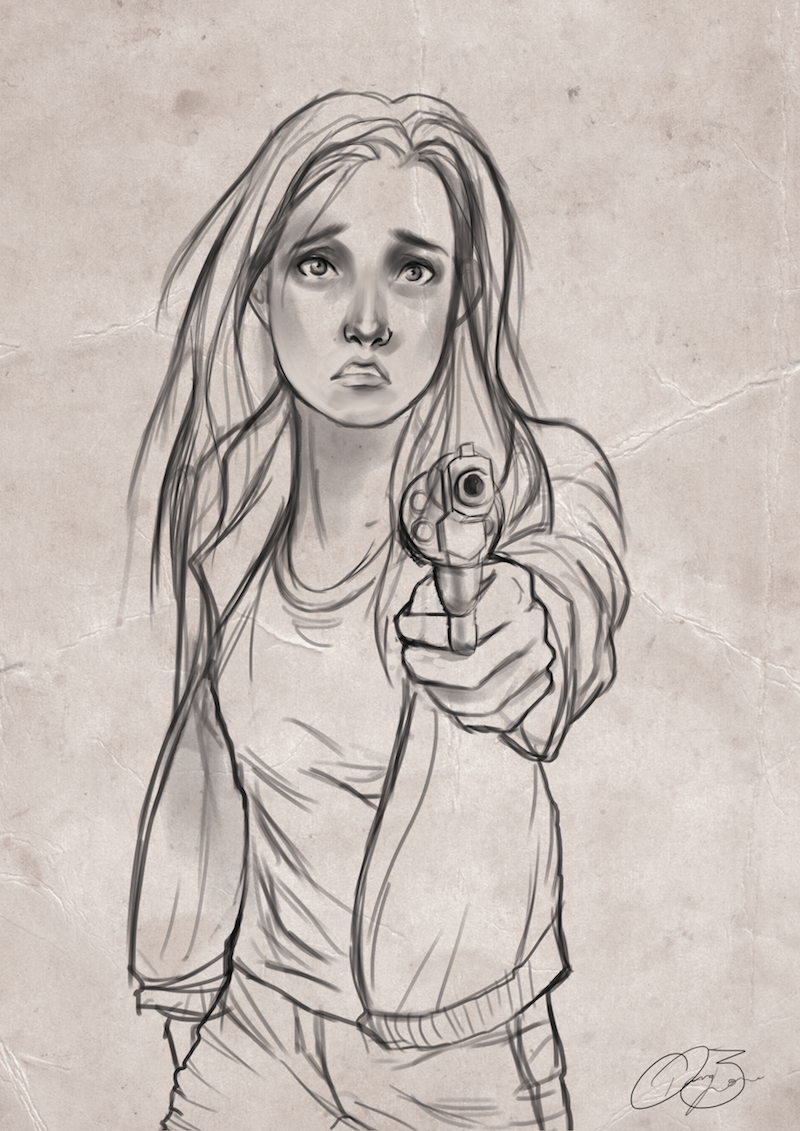 Tris And Four Fan Art Four knives   Drawing In General ...