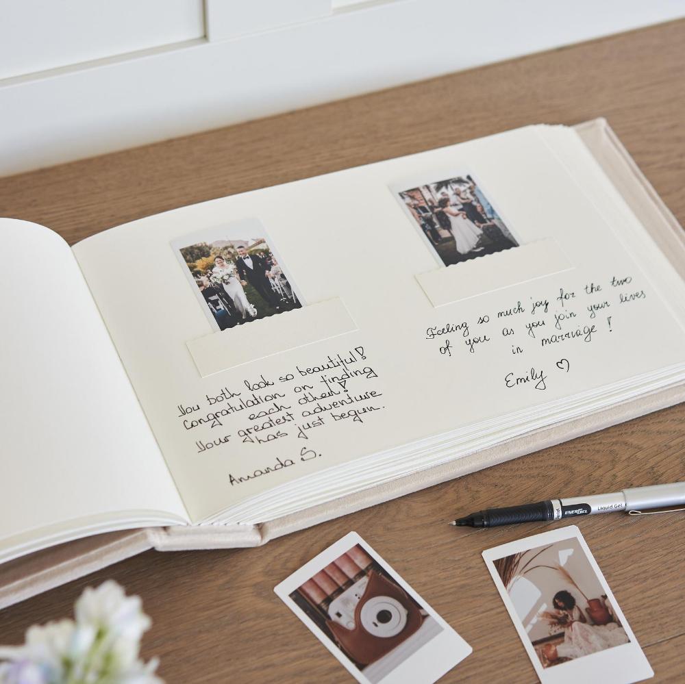 Wedding Guestbook  Wedding Photo Booth or Instax Album Instax Wedding Album Instax Wedding Book Instax Mini Album