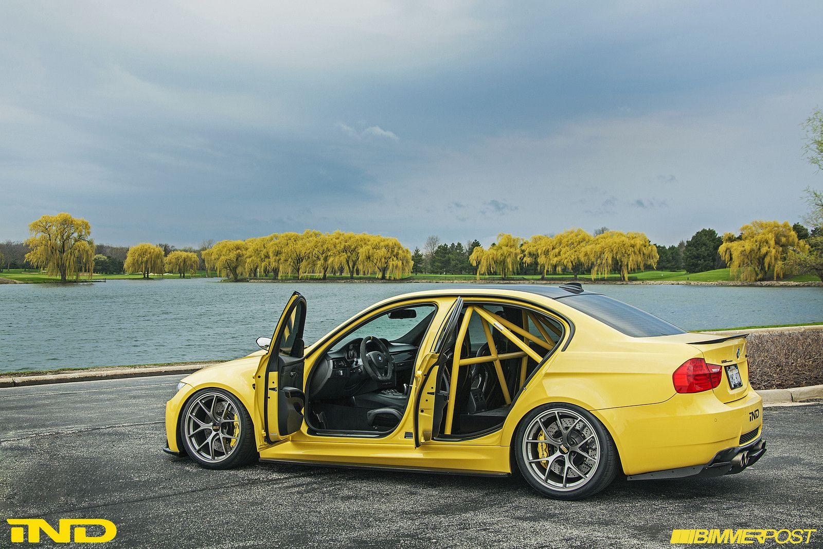 Yellow E90 Bmw M3 Modified Bmw Bmw M3 Sedan Bmw Cars