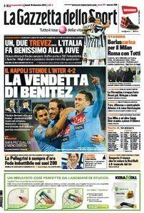 #PrimeraPlana @La Gazzetta dello Sport de hoy lunes 16/12/13