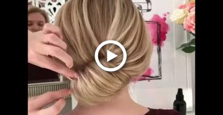 Low Bun Updo Hairstyles    Super Simple And Easy Summer Updo Hairstyle Ideas