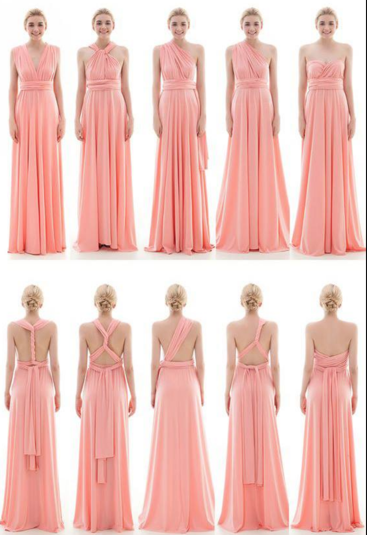 Ways To Tie A Wrap Multiway Dress Infinity Bridesmaid Diffe Style Dresses Create Unique Look