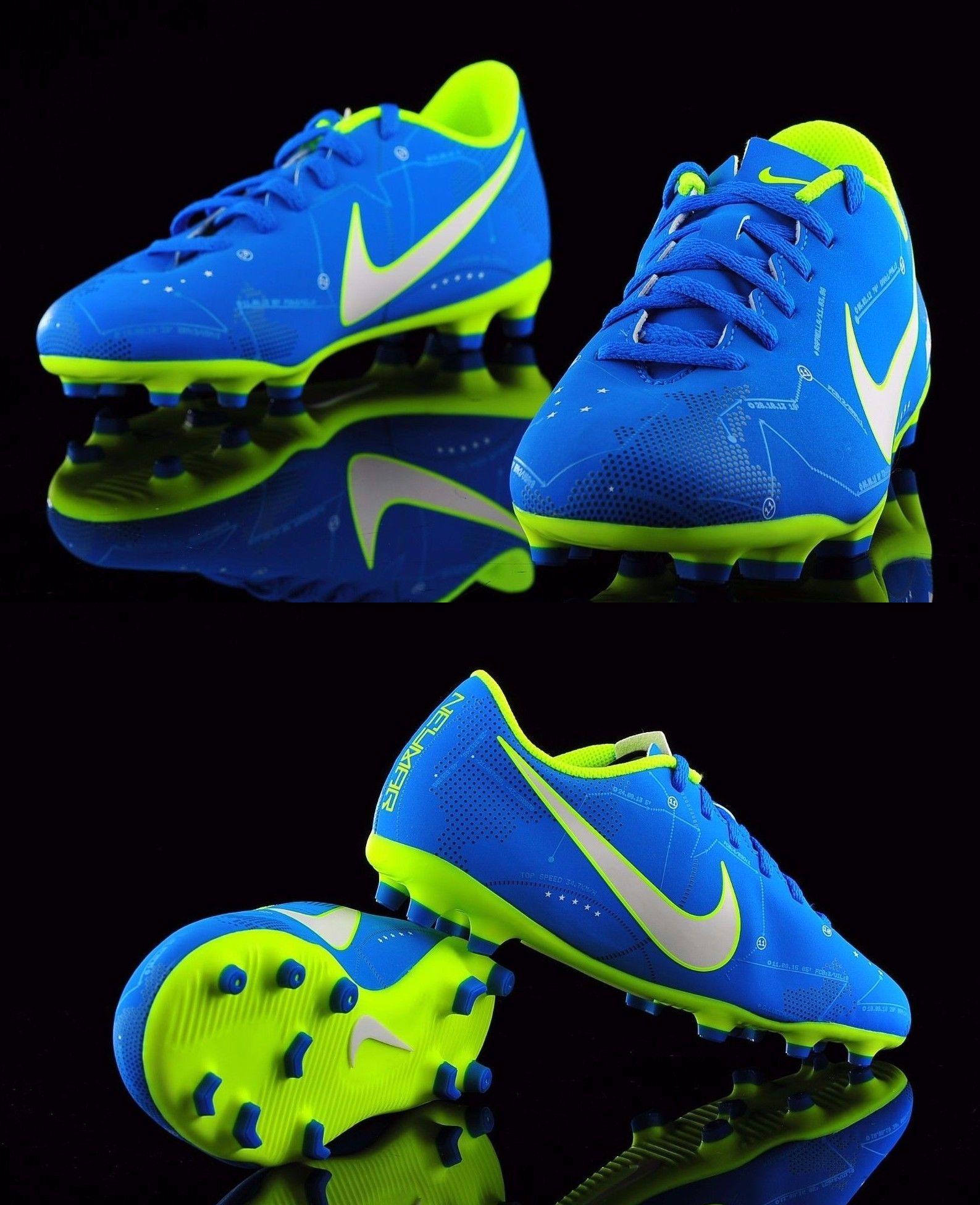 5f1efd59c3d Youth 159177  Nike Junior Mercurial Vortex Iii Njr Fg - Blue Orbit Volt  White -