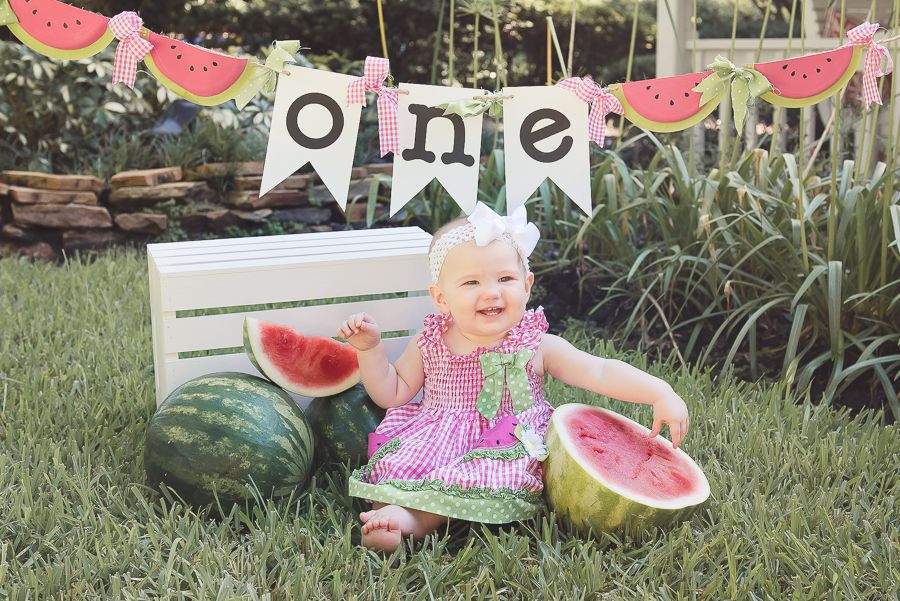 Anna | First Birthday | Windermere, FL » Lindsay Cope Photography