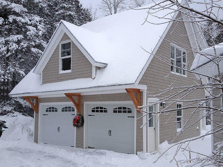 Garage Apartment Plans | 2-Car Garage & Studio Apartment #053G-0006 ...
