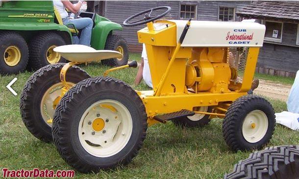 Old International Cub Cadet Lawn Tractor : Cub cadet original old lawn tractors pinterest