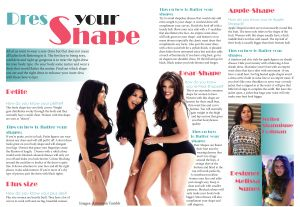 Dress your shape. Melissa Nunes