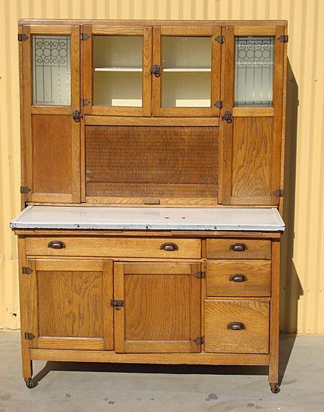 original antique hoosier kitchen cabinet   i really really really want one  original antique hoosier kitchen cabinet   i really really      rh   pinterest com