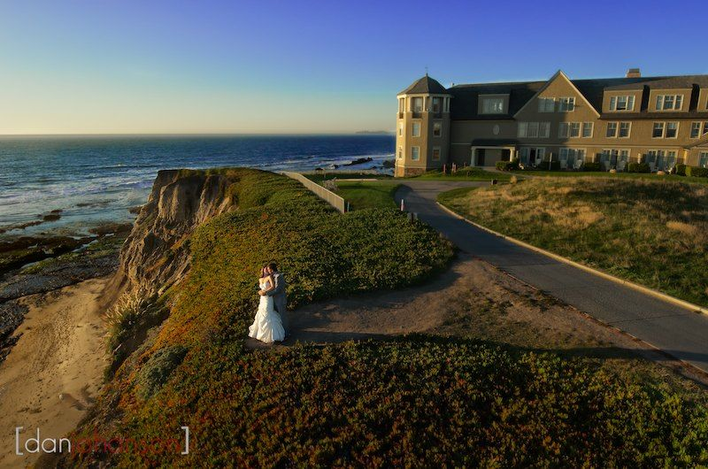 Ritz Carlton Half Moon Bay Wedding Portraits
