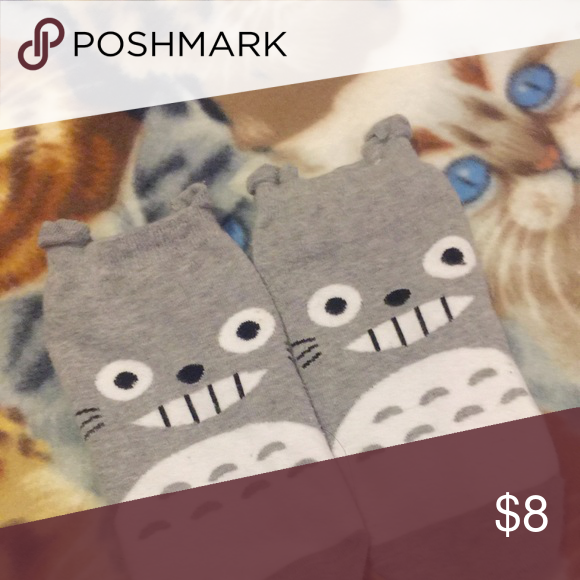 Kawaii Totoro Ankle Socks OS Hot Topic Other