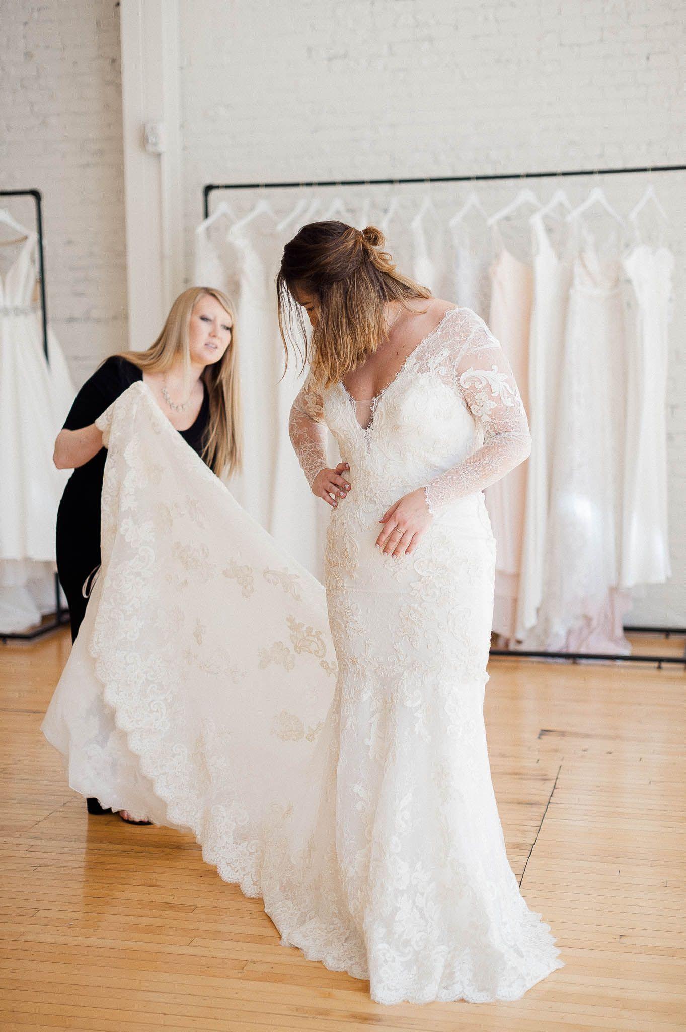 Longsleeved lace mermaid wedding dress lace mermaid