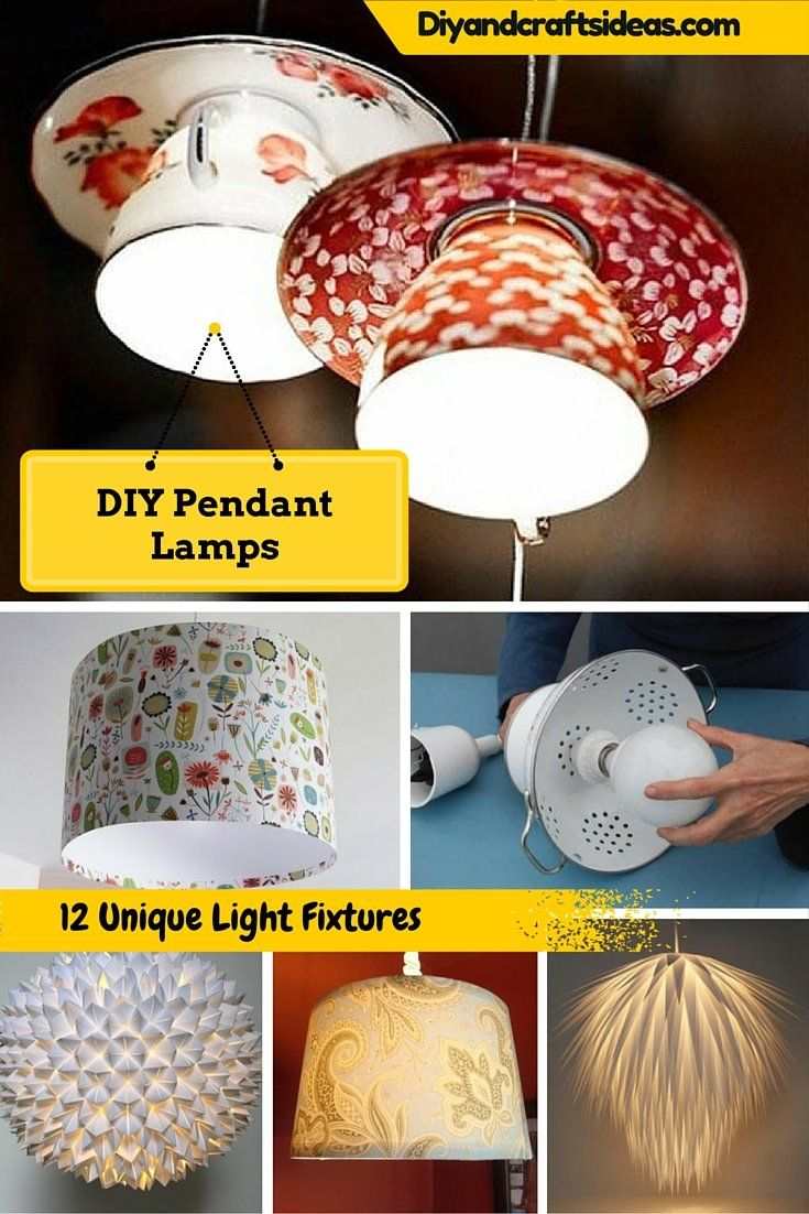 Genial DIY Hanging Lamps