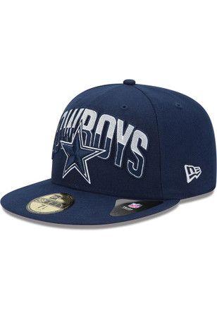 170af7d16 Cowboys Mens Navy Blue 2013 Draft Fitted Hat