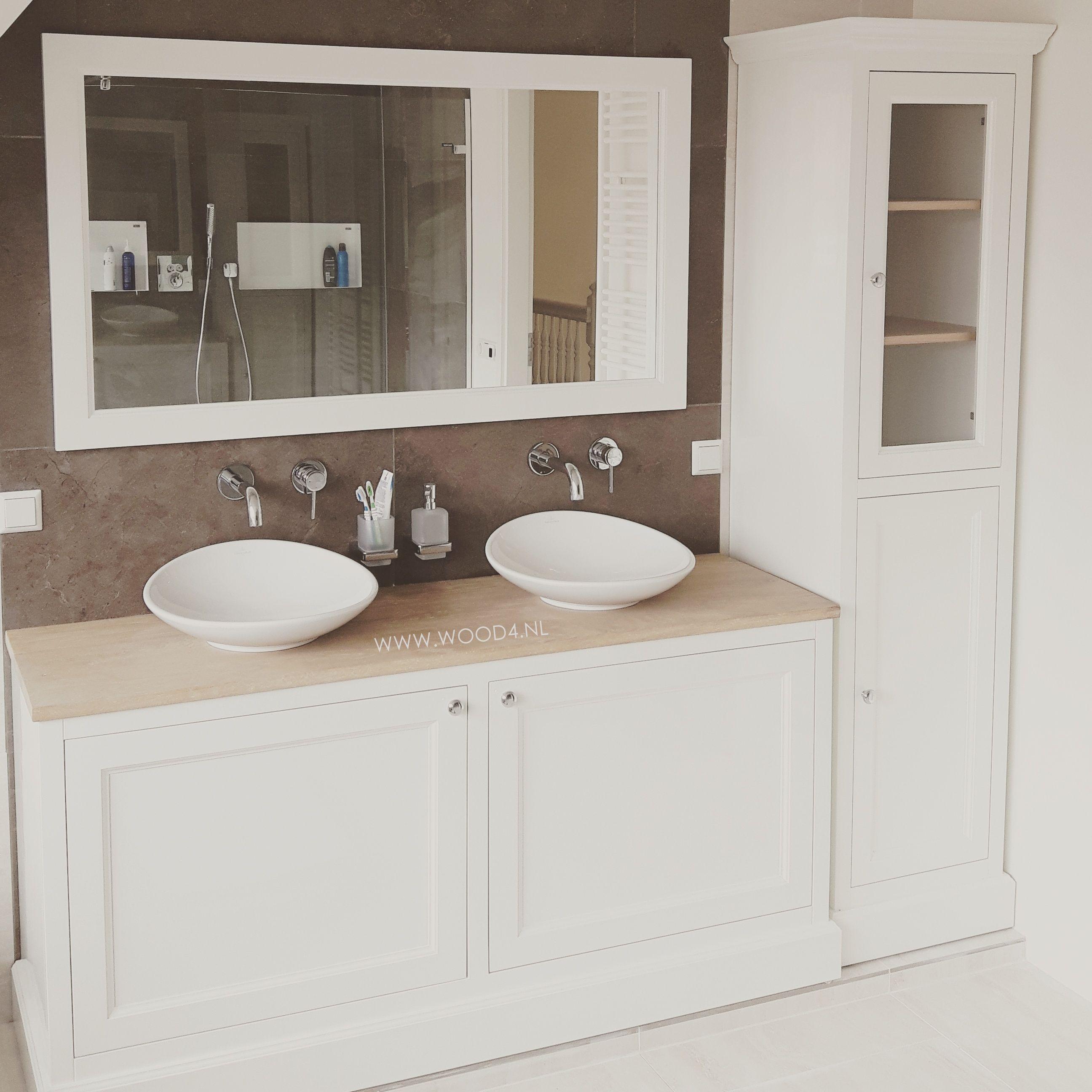 dit badkamermeubel van ons eigen merk lavello bouwden we in een