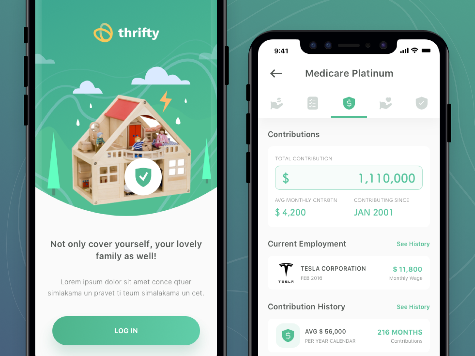 Thrifty Insurance App Mobile App Inspiration Thrifty App