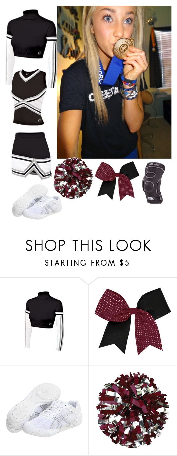 """cheering tonight -Alessandra xx"" by h-oran93 ❤ liked on Polyvore featuring Chassè and Asics"