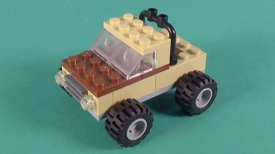 Lego Monster Truck Basic Building Instructions Lego Classic