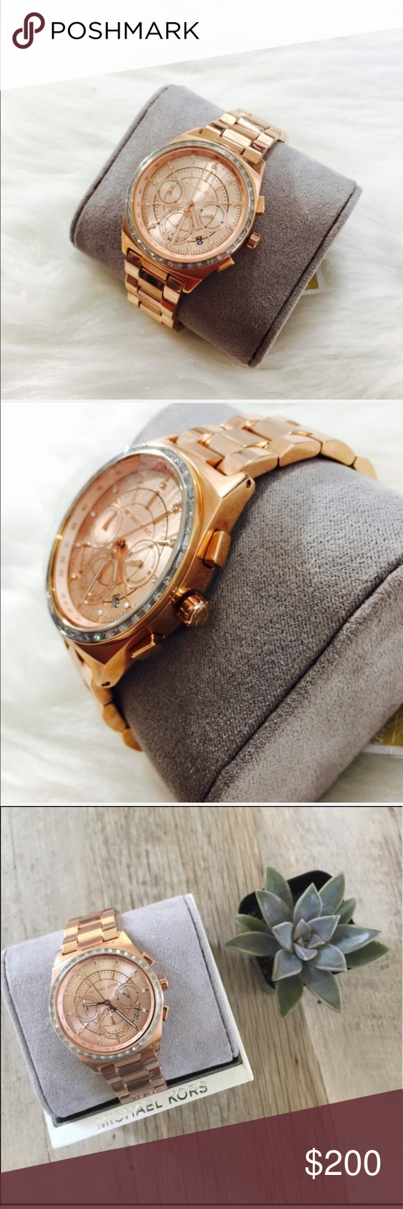 Michael Kors Vail Chronograph Rose Gold Watch