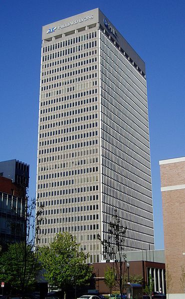 Pnc Plaza Is A Skyscraper In Downtown Louisville Kentucky And