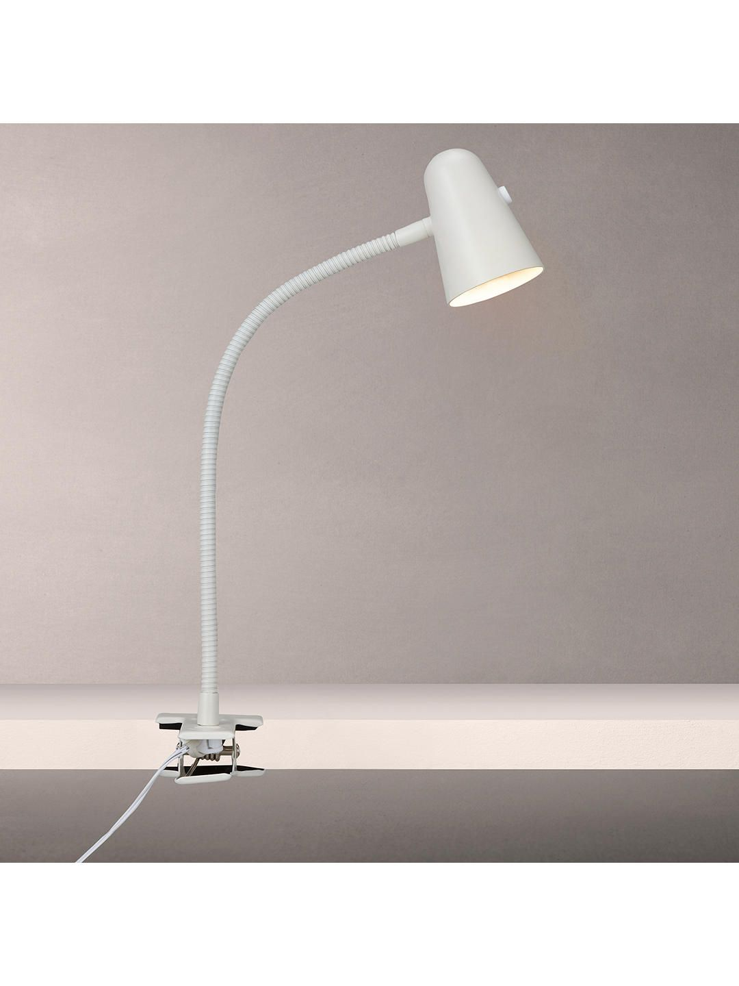 John Lewis Lorrie LED Clip with Switch