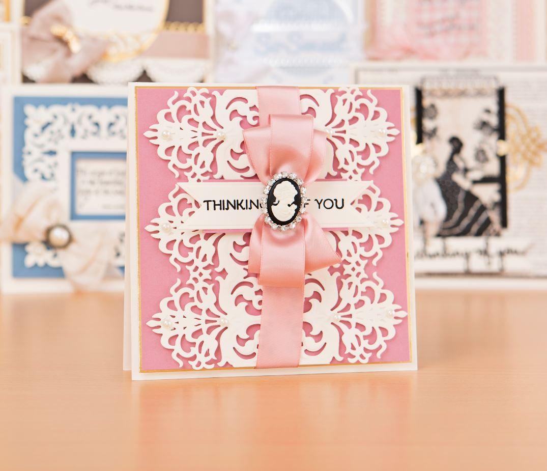 Make beautiful greeting cards with the Spellbinders Becca Feekens – Papercraft Birthday Card