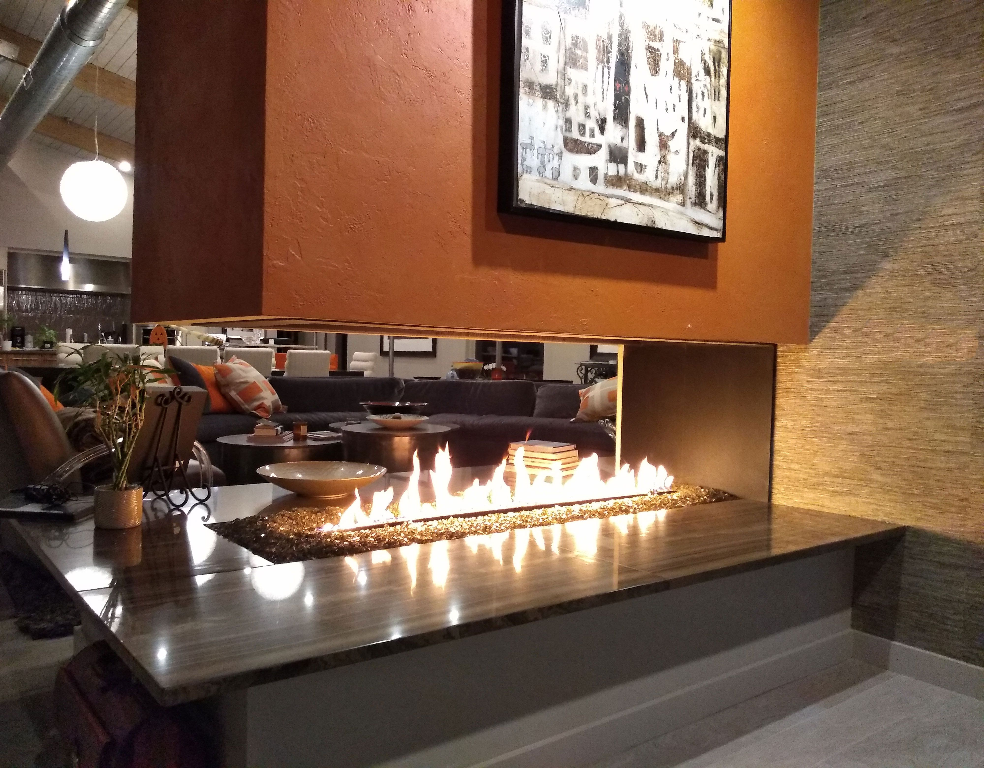 Simple And Quick Instructions On How To Clean The Inside Glass On A Gas Fireplace Glass Fireplace Gas Fireplace Gas Fireplace Insert