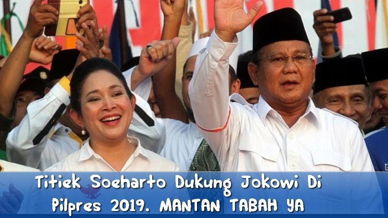 Tega Titiek Soeharto Malah Dukung Jokowi Di Pilpres 2019 Semoga