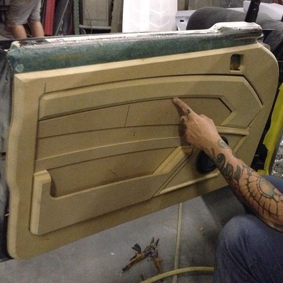 Custom Door Panel Auto Body And More Pinterest Doors Car Interiors And Cars