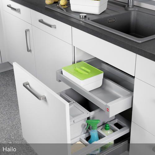 Hailo On-Top u2013 Funktionsbehälter für die Küche - ordnung in der küche