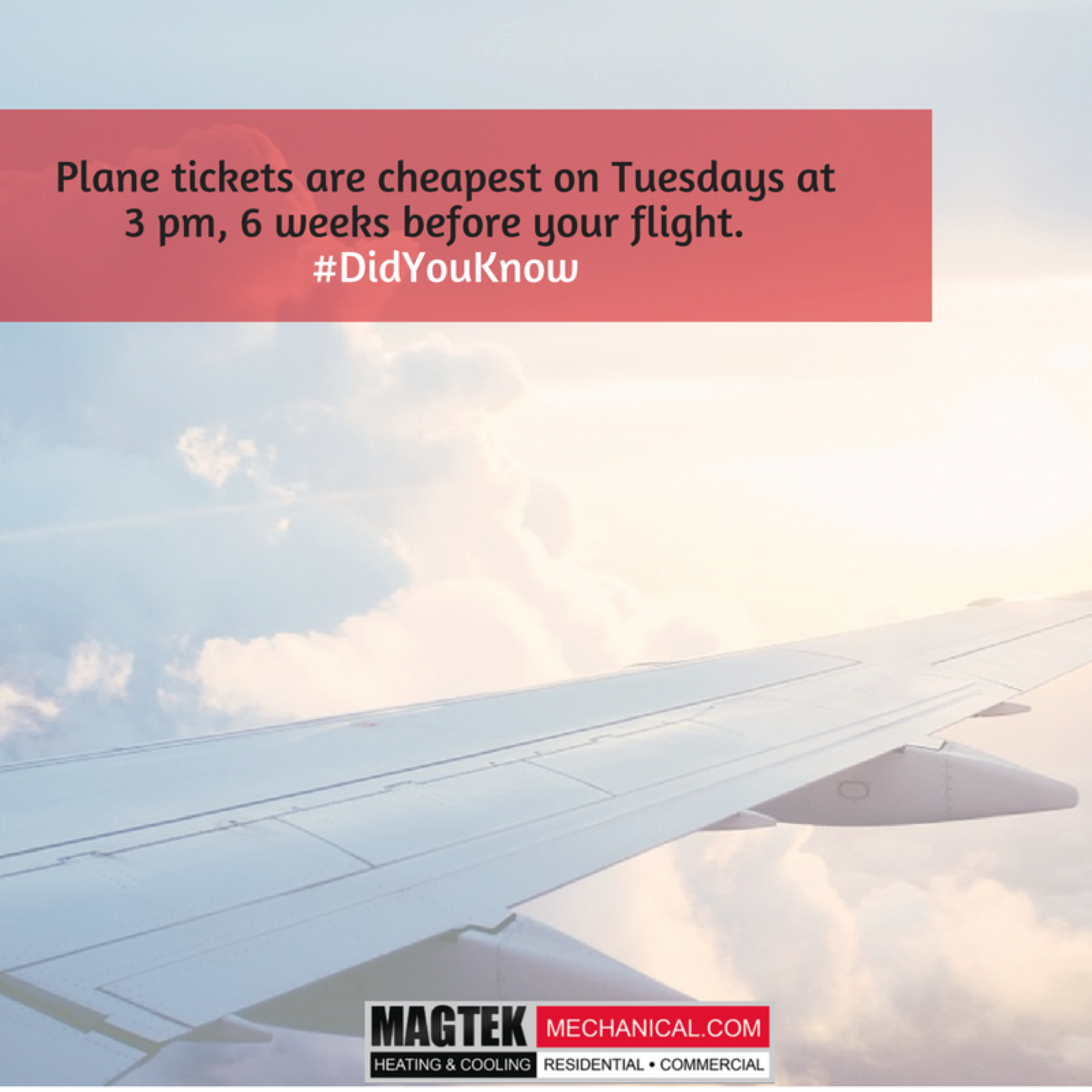 When S The Best Time To Buy Your Airlines Tickets Didyouknow