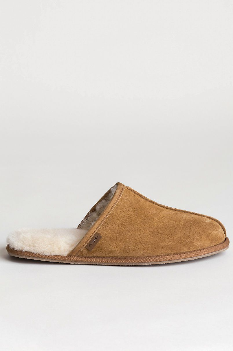 a6b856ef1f8f Men s Classic Shearling-Lined Scuff Slippers in 2019