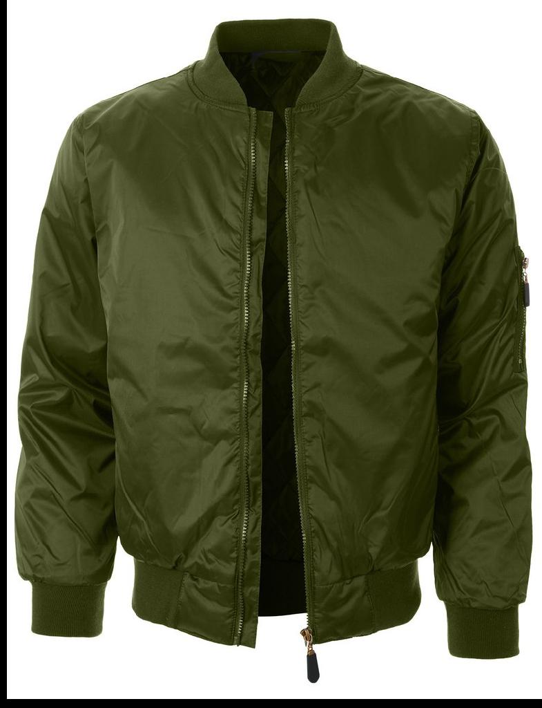 Jaqueta blusa Casaco Bomber Aviador Nylon Verde Original