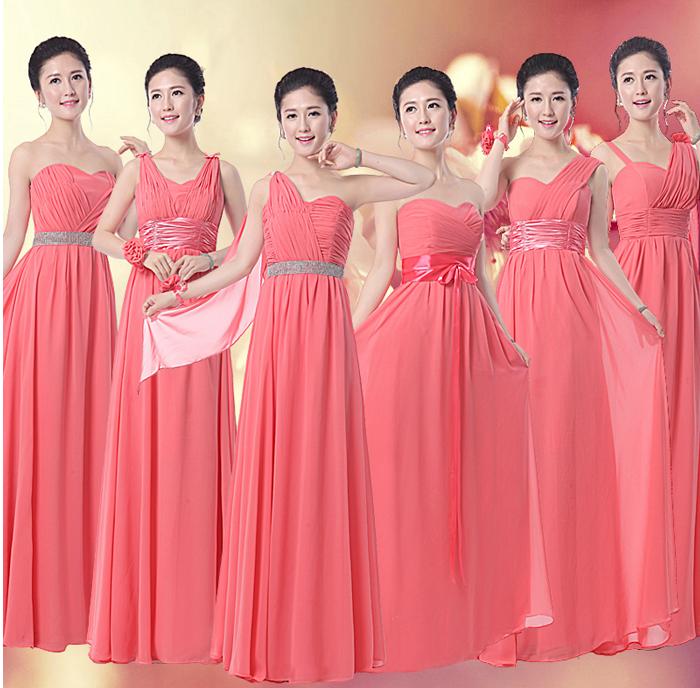 http://www.aliexpress.com/item/Coral-Bridesmaid-Dress-Long-Chiffon-6 ...