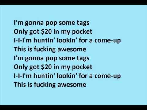 Thrift Shop Feat Wanz Macklemore Ft Ryan Lewis Lyrics