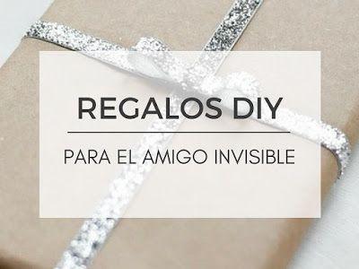 Regalar un amigo invisible diy por menos de 10 euros para for Regalos amigo invisible 10 euros
