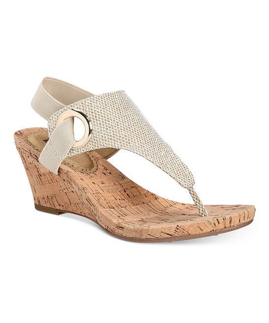 Gold Glitter Bandana Sandal Gold Wedge Shoes Wedge
