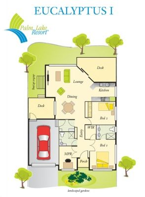 Villa Bargara Palm Lake Resort QLD - Over 50s Living