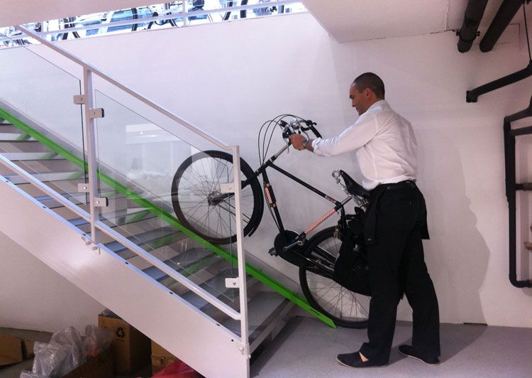 Bike wheel ramp bicycle culture
