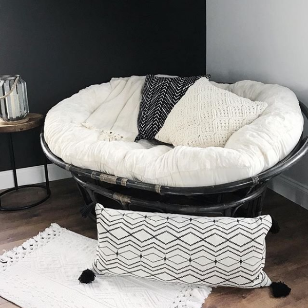 Papasan Double Taupe Chair Frame Playroom In 2019 Dorm