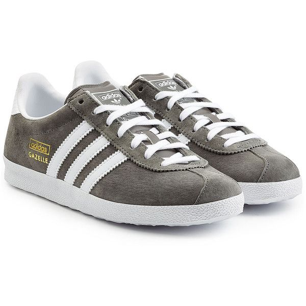 more photos 4c21e 71efa Adidas Originals Suede Gazelle Sneakers (1,440 MXN) ❤ liked on Polyvore  featuring shoes,