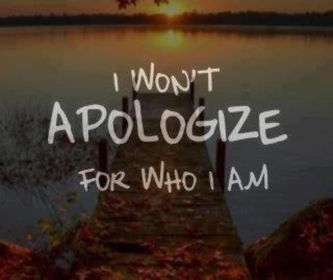 I won't!