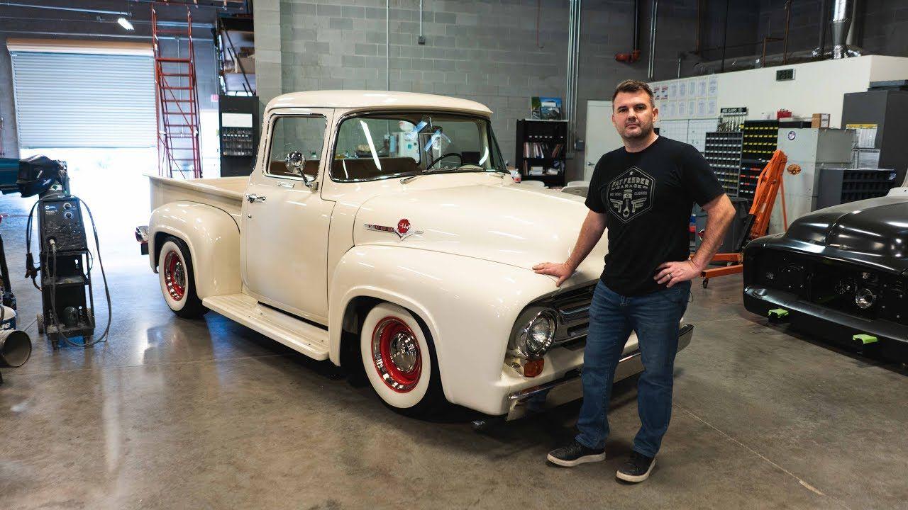 1956 ford f100 big window restoration walkaround big