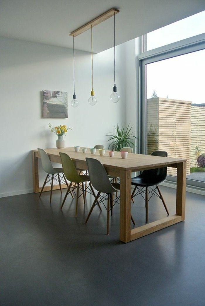 Comment cr er une ambiance scandinave 45 id es en photos - Table de salon style scandinave ...